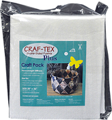 "20""X36"" - Bosal Craf-Tex Plus Double-Sided Fusible Foam Craft Pack"