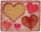 Happy Hearts - Pretty Twisted String Art DIY Kit