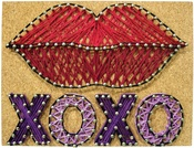 Sealed With A Kiss - Pretty Twisted String Art DIY Kit