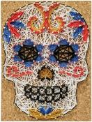 Senorita Sugar Skull - Pretty Twisted String Art DIY Kit