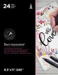 """Love - Spectrum Noir Hand Lettering Decor Pad 8.5""""X11"""""""
