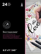 "Love - Spectrum Noir Hand Lettering Decor Pad 8.5""X11"""