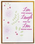 Rose Flourish - Spellbinders Cutting Embossing Folders