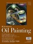 """10 Sheets - Strathmore 400 Series Oil Painting Pad 9""""X12"""""""