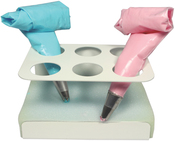 6 Slots - Icing Bag Stand