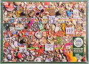 "Beach Scene - Jigsaw Puzzle 1000 Pieces 26.625""X19.25"""
