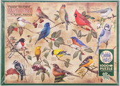 "Popular Backyard Birds Of N.a. - Jigsaw Puzzle 1000 Pieces 26.625""X19.25"""