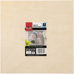 """12""""X12"""" - Square Panel Wood Surface"""