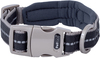 Large-Black - Petface Signature Padded Collar 16 inches  To 20 inches The Signature range is made from premium soft touch nylon webbing which is gentle on your dog's skin and fur. The extra padding on the collar provides the ultimate comfort and minimal friction on sensitive neck area. The reflective material is perfect for dusk and night-time visibility. Wash the collar in warm water with light soap and air dry. The sturdy metal D ring is perfect for attaching a tag or fastening a leash. Package includes one large collar adjustable 16 to 20 inches. Color: Black. Keep out of the reach of children. Imported.