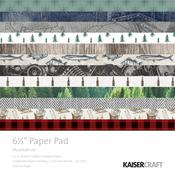 "Mountain Air 6.5"" x 6.5"" Paper Pad - KaiserCraft"