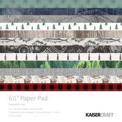 "Mountain Air 6.5"" x 6.5"" Paper Pad - KaiserCraft"
