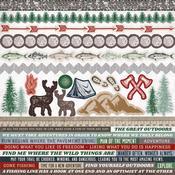 Mountain Air Cardstock Stickers - KaiserCraft