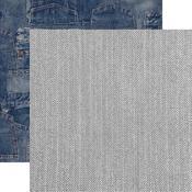 Blue Jeans Paper - Mountain Air - KaiserCraft