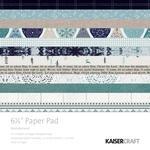 "Wonderland Kaisercraft Paper Pad 6.5""X6.5"""