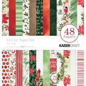 Peace & Joy 12 x 12 Paper Pad - KaiserCraft