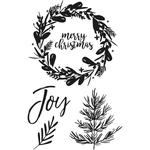 Peace & Joy Clear Stamps - KaiserCraft