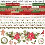Peace & Joy Cardstock Stickers - KaiserCraft