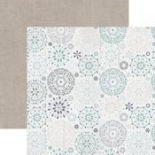 Snowfall Paper - Wonderland - Kaisercraft