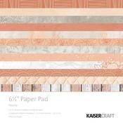 Peachy 6 x 6 Paper Pad - KaiserCraft