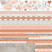 Peachy Cardstock Stickers - KaiserCraft