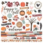 Combo Sticker - Forever Fall - Simple Stories - PRE ORDER