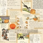 Little Monsters Paper - Simple Vintage Halloween - Simple Stories