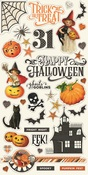 Simple Vintage Halloween Chipboard - Simple Stories