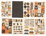 Simple Vintage Halloween Sticker Book - Simple Stories - PRE ORDER