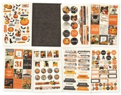 Simple Vintage Halloween Sticker Book - Simple Stories