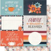 Forever Fall - 4x6 Horizontal Elements - Simple Stories
