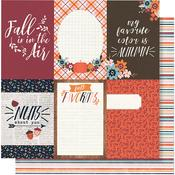 Forever Fall 4x6 Vertical Elements - Simple Stories