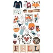 Chipboard Stickers - Forever Fall - Simple Stories
