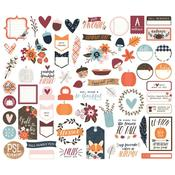 Bits & Pieces Die-Cuts - Forever Fall - Simple Stories