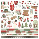 Merry & Bright Combo Sticker Sheet - Simple Stories