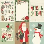 4x6 Vertical Element Paper - Merry & Bright - Simple Stories