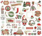 Merry & Bright Bits & Pieces Die-Cuts - Simple Stories