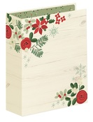 Sn@p! Merry & Bright 6 x 8 Binder - Simple Stories