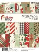 Merry & Bright 6 x 8 Paper Pad - Simple Stories