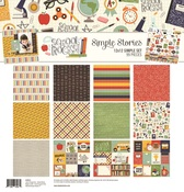 School Rocks! Simple Sets Collection Kit - Simple Stories - PRE ORDER