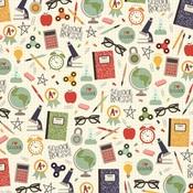 I Love School Paper - School Rocks - Simple Stories