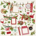 Banners Sticker Sheet - Simple Vintage Christmas - Simple Stories