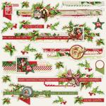 Borders Sticker Sheet - Simple Vintage Christmas - Simple Stories