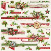 Borders Sticker Sheet - Simple Vintage Christmas - Simple Stories