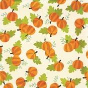 Pumpkin Patch Paper - Happy Halloween - Simple Stories