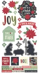 Peace On Earth Cardstock Stickers - Simple Stories - PRE ORDER