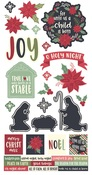 Peace On Earth Cardstock Stickers - Simple Stories