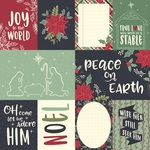 3x4 & 4x6 Element Paper - Peace On Earth - Simple Stories