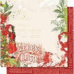 Ho Ho Ho Paper - Simple Vintage Christmas - Simple Stories - PRE ORDER