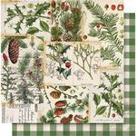 O Christmas Tree Paper - Simple Vintage Christmas - Simple Stories - PRE ORDER