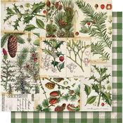 O Christmas Tree Paper - Simple Vintage Christmas - Simple Stories